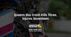 Queens Bus Crash Kills Three, Injures Seventeen